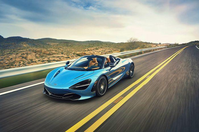 McLaren 720S Performance Convertible